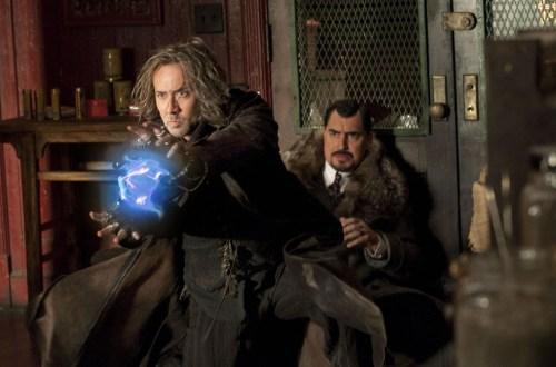 Nicolas Cage and Alfred Molina in THE SORCERER'S APPRENTICE