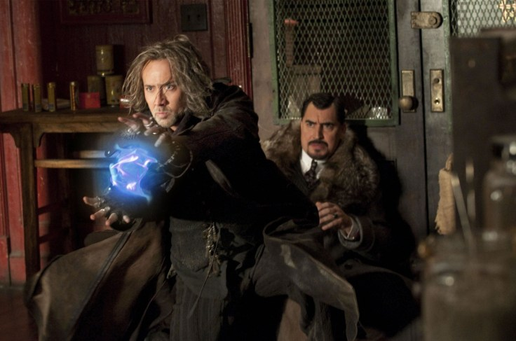 Nicolas Cage and Alfred Molina in THE SORCERER'S APPRENTICE