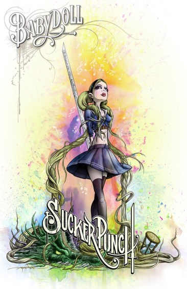 Alex Pardee's Sucker Punch Posters