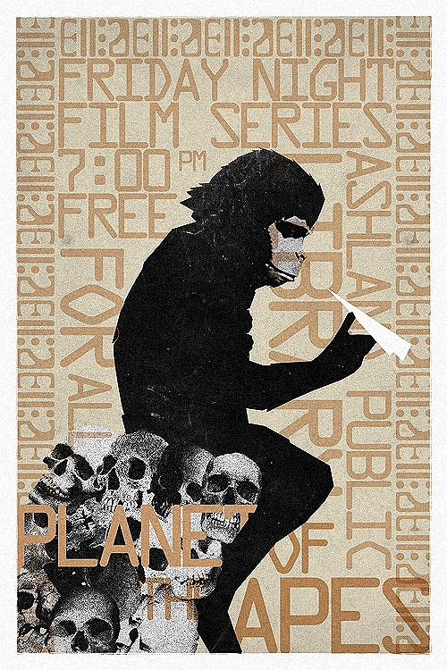Brandon Schaefer's Planet of the Apes Movie Poster