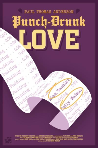 Mario Graciotti's Punch Drunk Love Poster