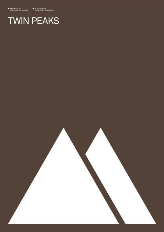 Albert Exergian's Twin Peaks Poster