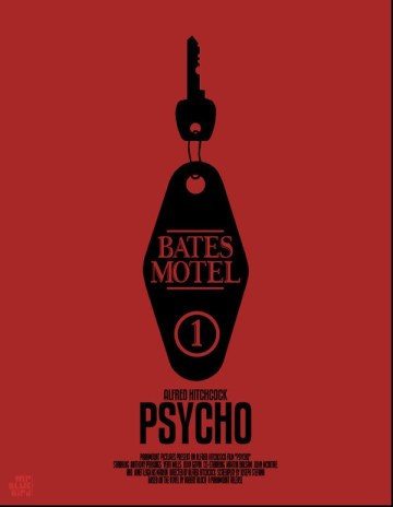 Mario Graciotti's Poster for Alfred Hitchcock's Psycho