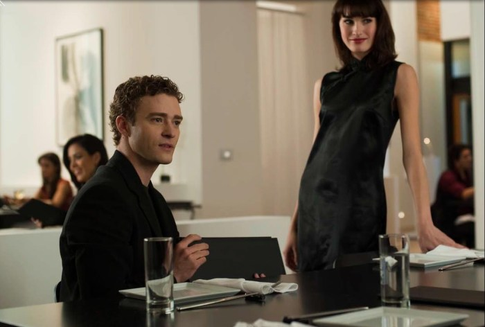 Justin Timberlake in The Social Network