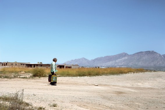 Joel Sternfeld, Green Valley, Arizona, 1978 Pigment Print, 21.5 x 32.5 cm.  All images courtesy of the artist, Luhring Augustine, New York and Buchmann Galerie, Berlin