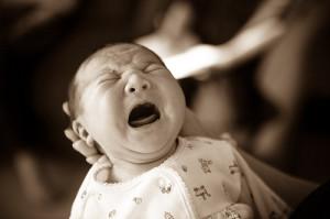 cranky baby sleep regression