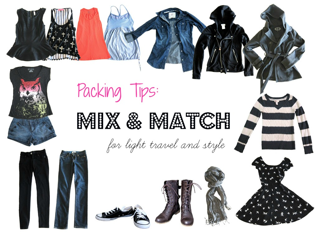 Staggering Match Mama Instagram Mix Packing Mix Match Style Packing Mix Match Match Mama Light Travel Style Slightly Astray Mix Light Travel inspiration Mix And Match