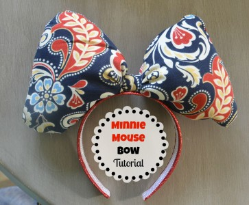 I Like Big Bows...Minnie Mouse Bow Tutorial