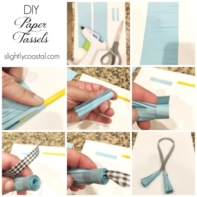 DIY Paper Tassels and Christmas Gift Wrapping Inspiration