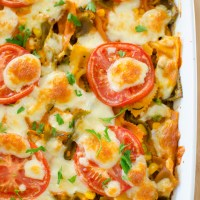 Creamy Vegetable Pasta Bake