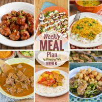 Slimming Eats Weekly Meal Plan - Week 6