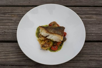 Pan Roasted Local Cod