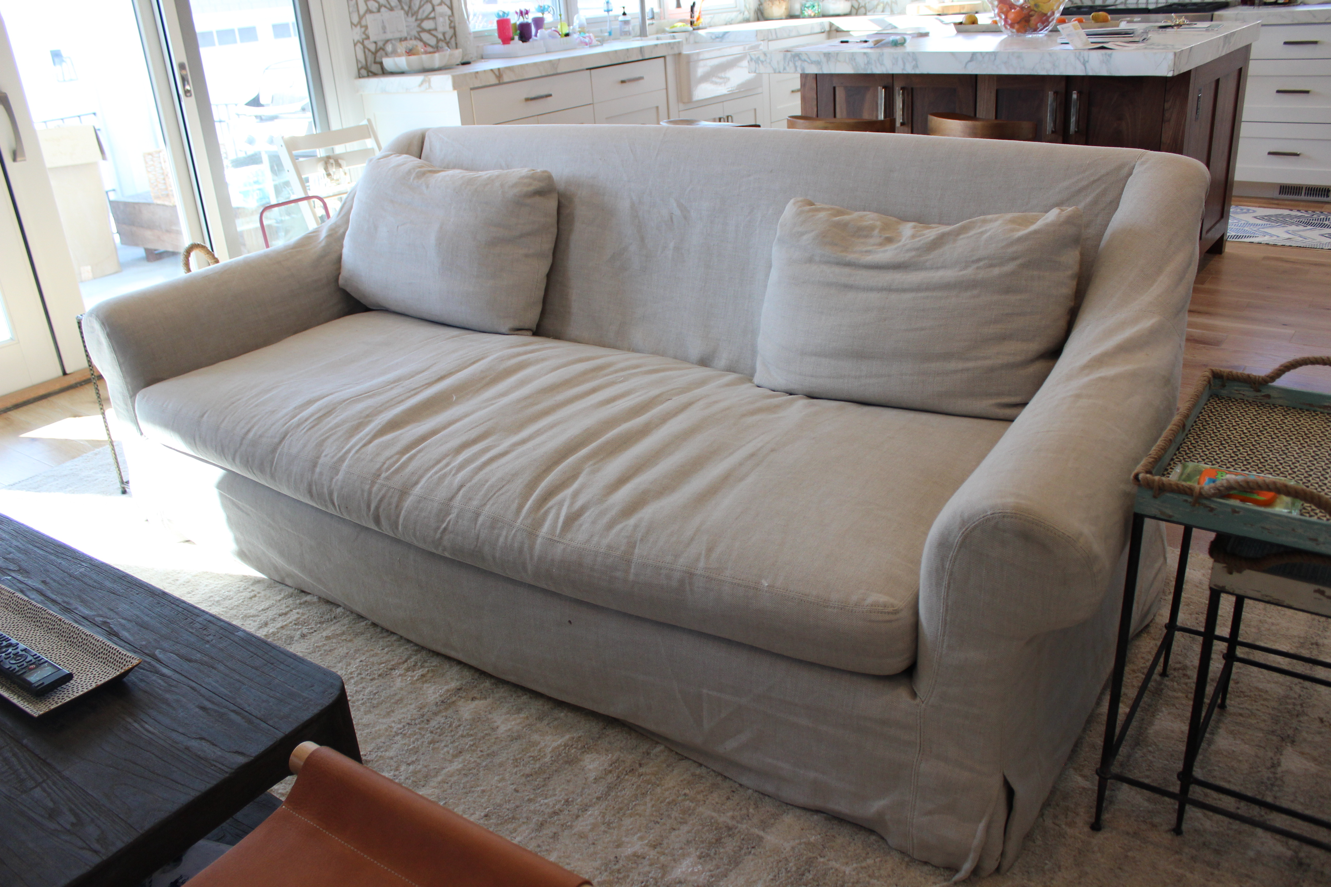 Slipcovers and more washable sofa 100 images another great find on zulily chic home melinda - Choosing the best slipcover fabrics for your home ...