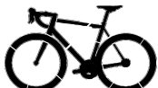 Cycling Pumpkin Carving Stencil