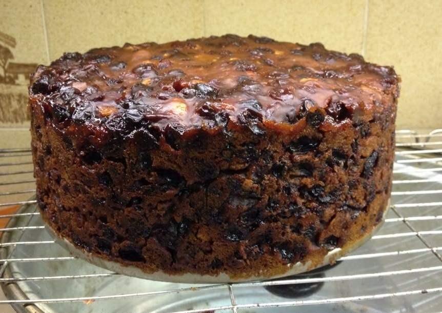 Ingredient Fruit Cake