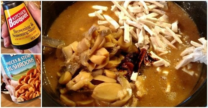 crock pot beef & noodles
