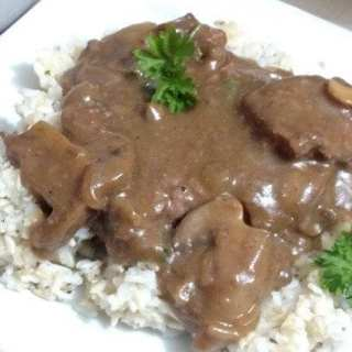 Crock Pot Cube Steak Gravy