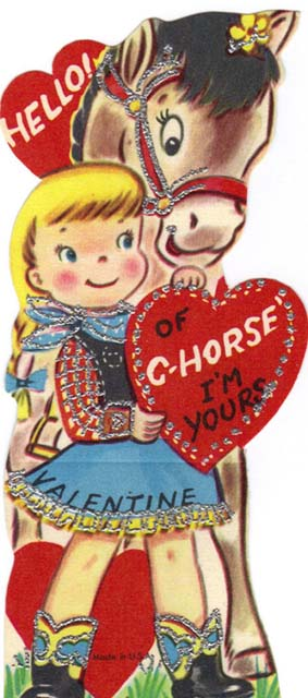 Old Fashioned Homemade Valentine Cards