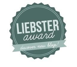 Liebster Award! Yippee!!!
