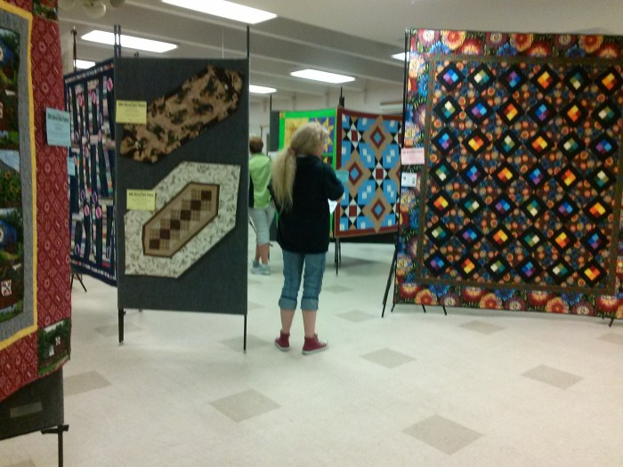 Quilting even!