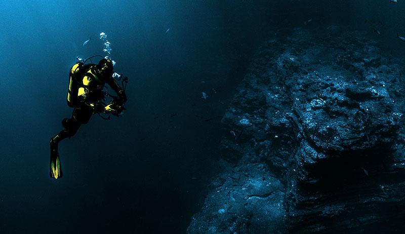 Atmen unter Wasser: Ein Kristall macht es möglich
