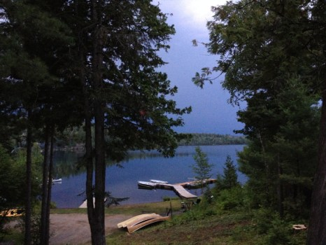 Thunderstorm brewing at Clearwater Lodge