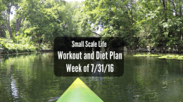 Workout Plan; Diet Plan; Weekly Plan; Spin Class; Cycling Swimming; Weightlifting; Elliptical Trainer; Kayak; Kayaking; Active Lifestyle; Fitness