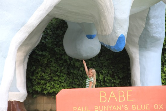 Babe the blue ox's giant balls
