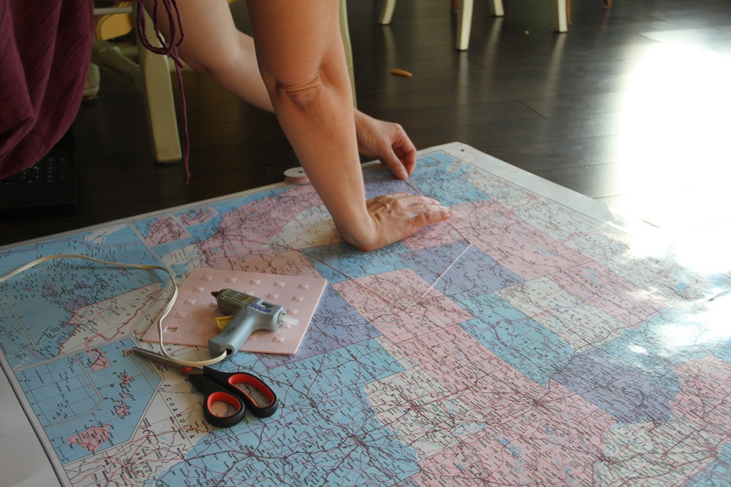 DIY Roadtrip Travel Route Map keeping your memories alive – Map Your Travel Route