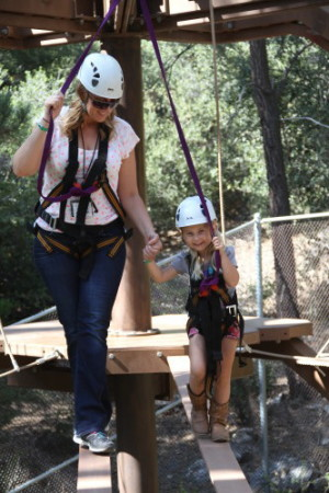 Forest Home ropes course
