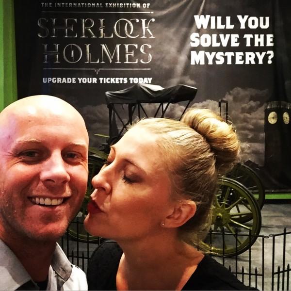 Sherlock Holmes at The Cube
