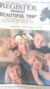OC Register Mother's Day flower crown
