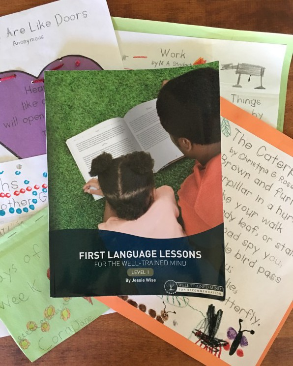 First Language Lessons for the Well-Trained Mind Level 1 Activities