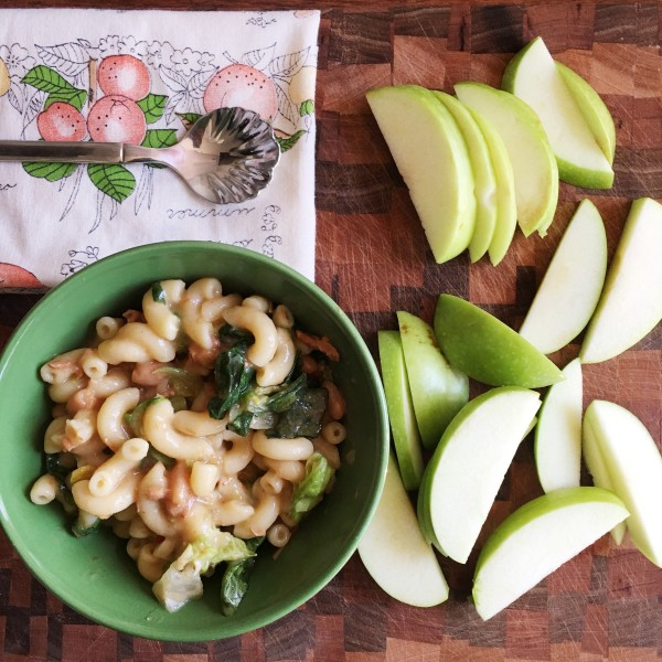 easy pasta recipes with apples
