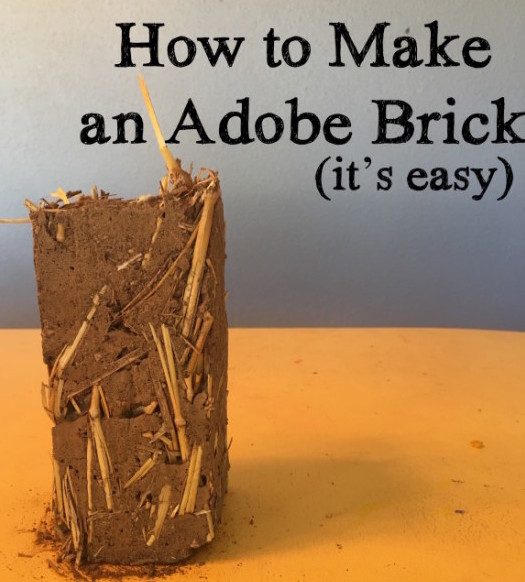 how to make an adobe brick