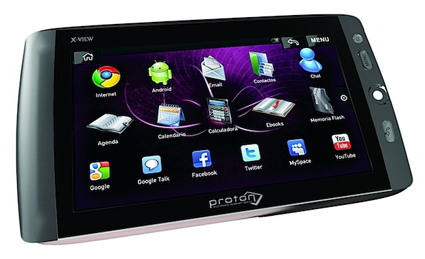 X-View Proton tablet Android