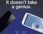 Samsung ataca directamente al iPhone 5 en publicidad