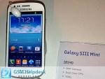 Samsung Galaxy S III Mini se filtra, esta vez el real