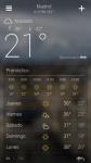 Yahoo lanza su aplicación de Clima en Android