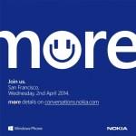 Nokia anunciará nuevos smartphones Lumia el 2 de Abril