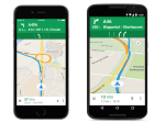 Google Maps indica que carril usar en algunos países europeos