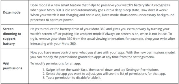Moto 360 Marshmallow