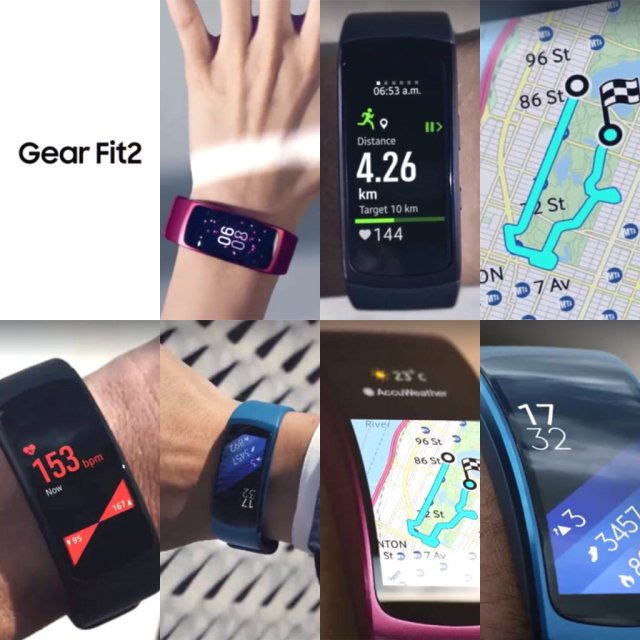 Gear Fit dos se filtra