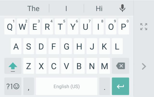 teclado google v5