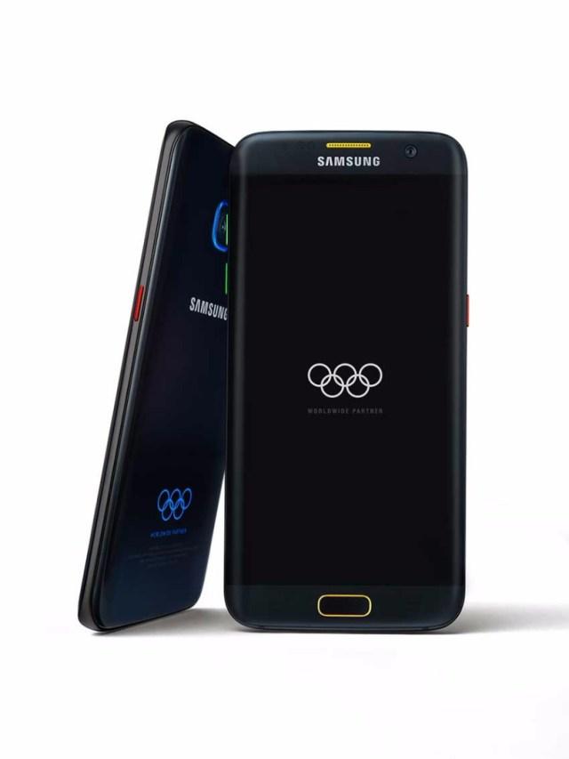Galaxy S7 Edge olimpiadas
