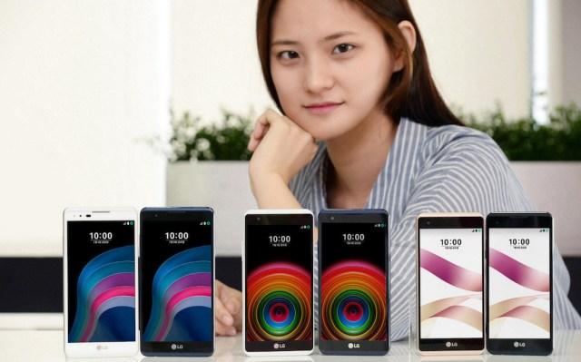 lg x skin lg x5 anunciados en Corea