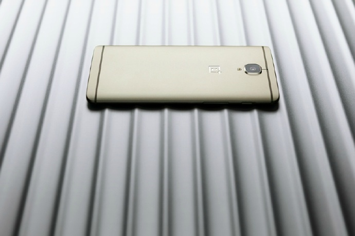 oneplus tres soft gold