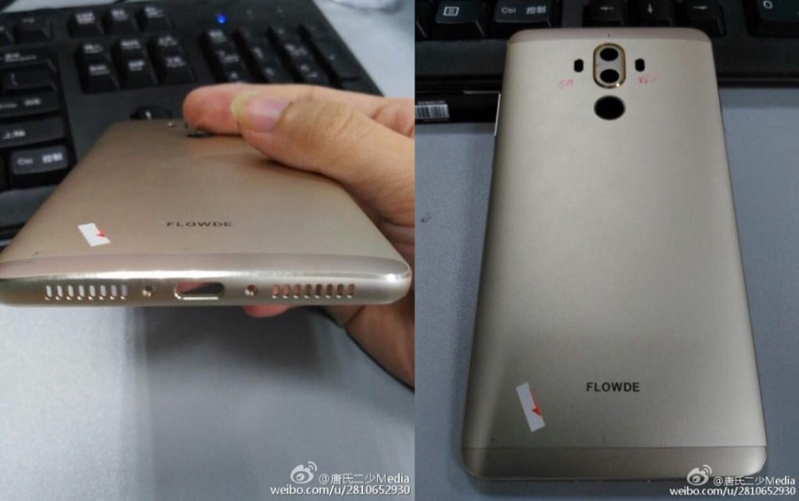 Huawei Mate nueve filtrado