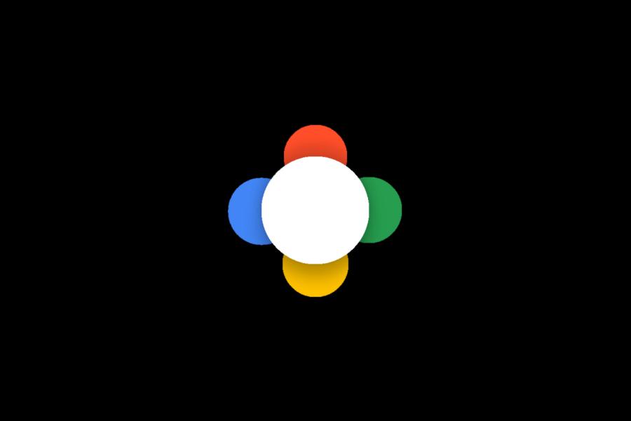 Nexus botón de principio animado