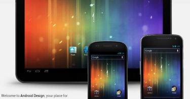 android design webseite
